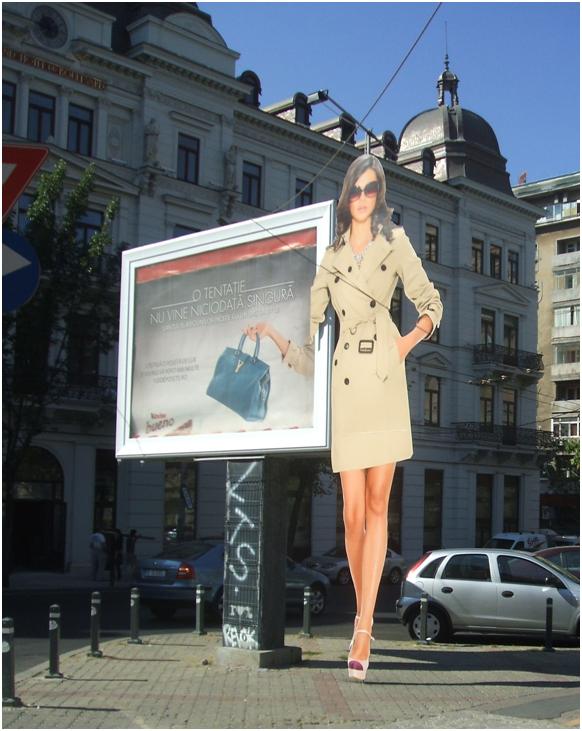 Blochează trotuarul (București, Bdul Regina Elisabeta, colț cu Calea Victoriei, septembrie 2012, foto. S. C.)