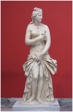 Foto. 1. Afrodita pudică (sculptură, sec. 1) Muzeul Național de Artă (Atena)